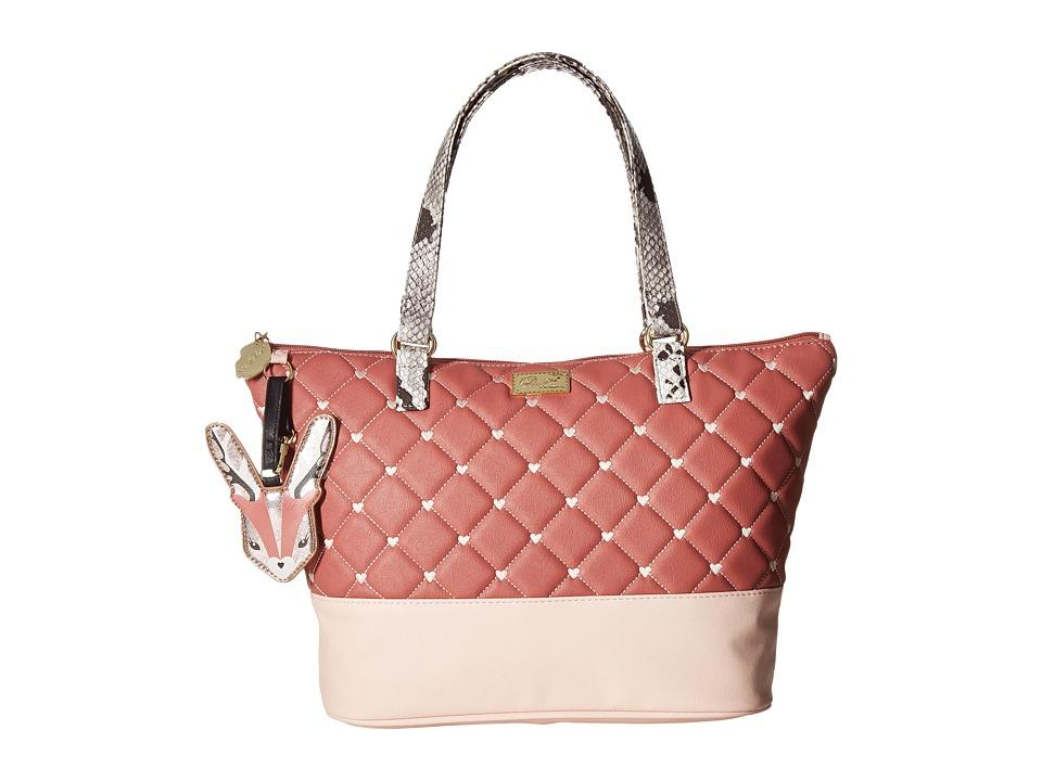 Luv Betsey - Amor Tote (Blush/Sand) Tote Handbags
