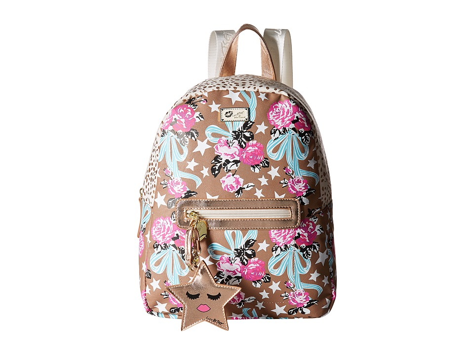 Luv Betsey Dem Backpack (Taupe/Turquoise) Backpack Bags