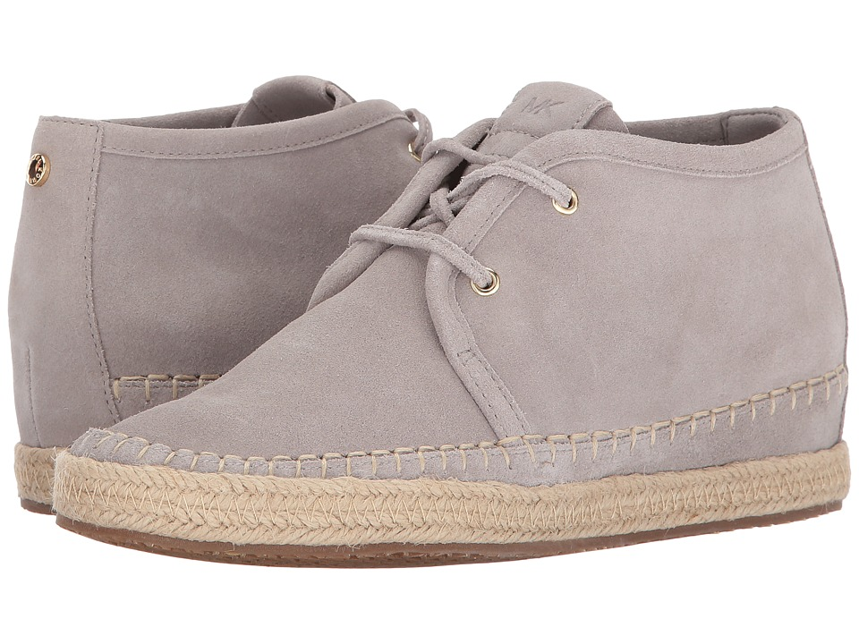 MICHAEL Michael Kors - Kendrick Lace-Up Wedge (Cement) Women's Lace up casual Shoes
