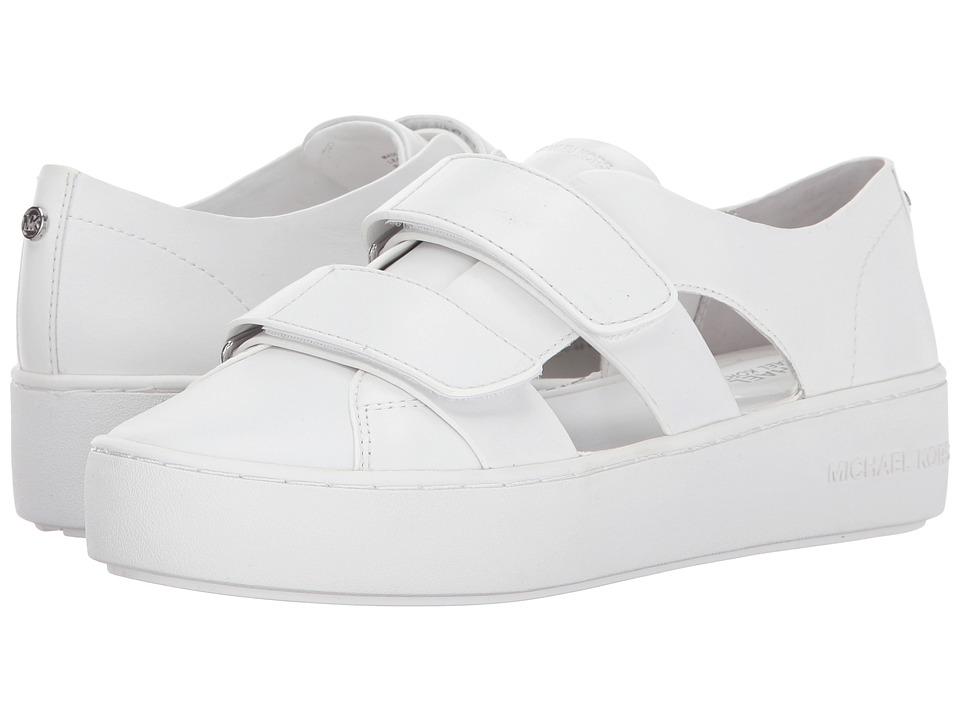 MICHAEL Michael Kors - Beckett Sneaker (Optic White) Women's Shoes
