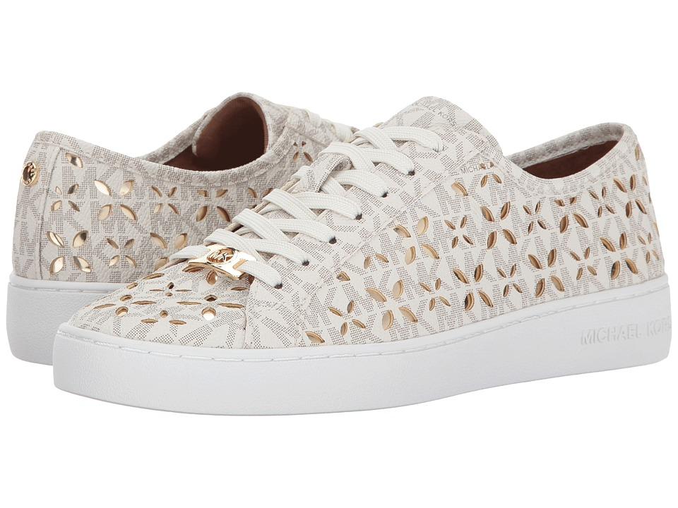 MICHAEL Michael Kors - Keaton Sneaker (Vanilla/Pale Gold) Women's Shoes