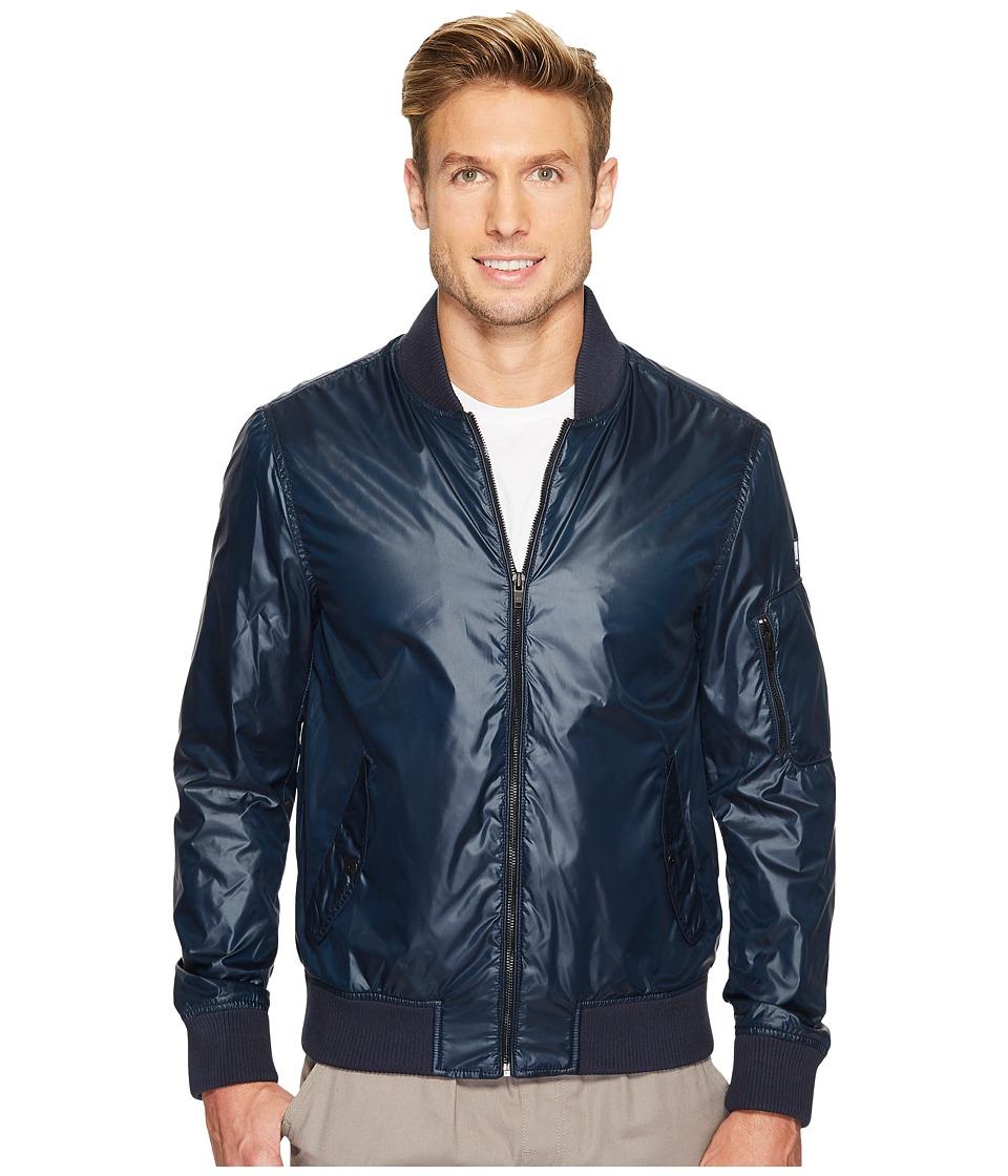 Calvin Klein Jeans Nylon Bomber Jacket (Classic Navy) Men