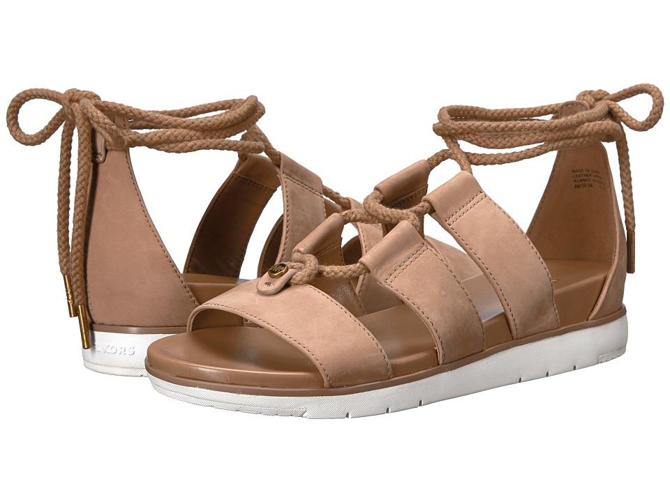 MICHAEL Michael Kors McKenna Sandal Dark Khaki Sandals