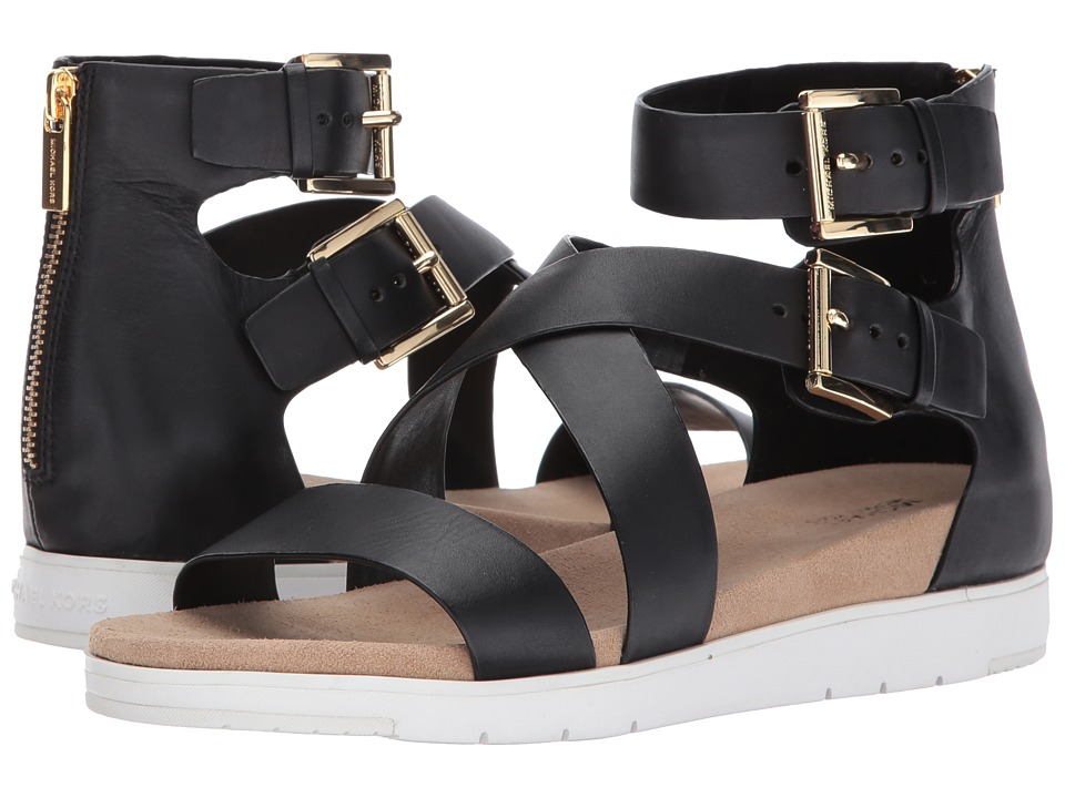 MICHAEL Michael Kors - Sybil Sandal (Black) Women's Sandals