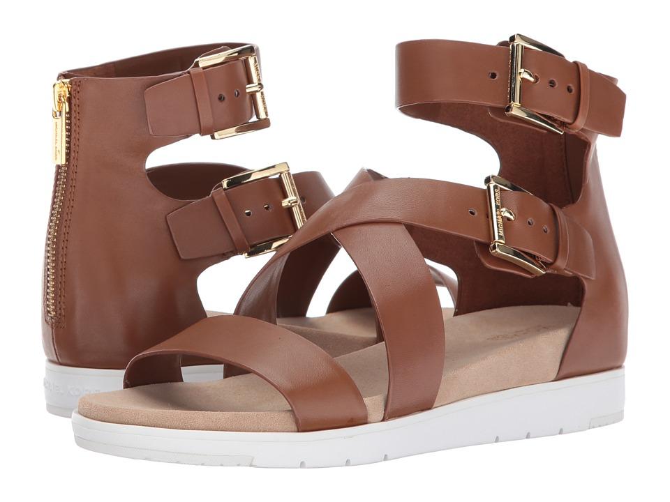 MICHAEL Michael Kors - Sybil Sandal (Luggage) Women's Sandals