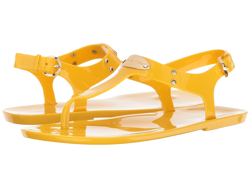 MICHAEL Michael Kors - MK Plate Jelly (Sunflower) Women's Sandals