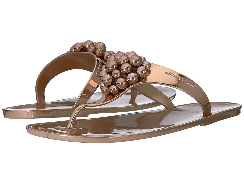 MICHAEL Michael Kors - Kirby Jelly Thong (Sable) Women's Sandals