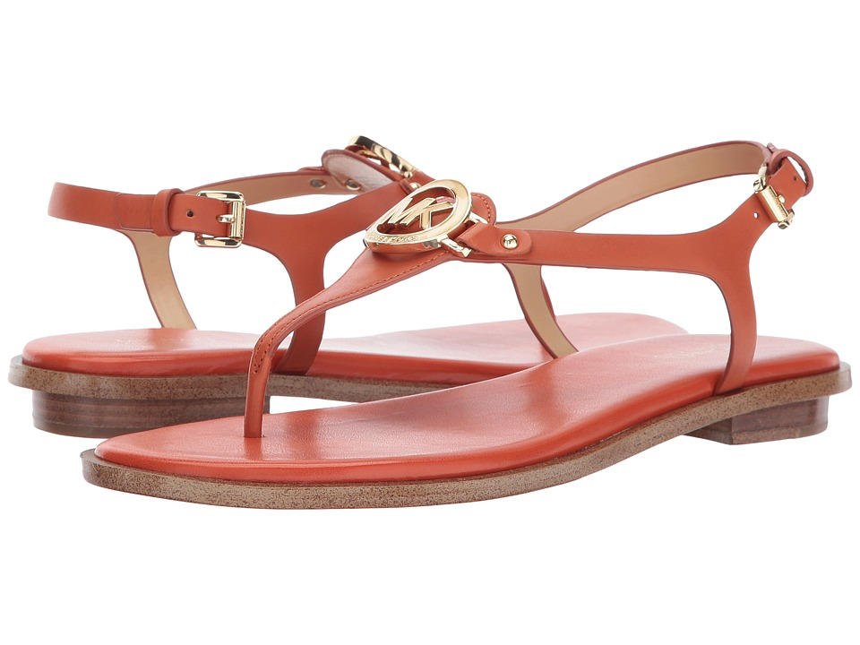 MICHAEL Michael Kors - Lee Thong (Orange) Women's Sandals