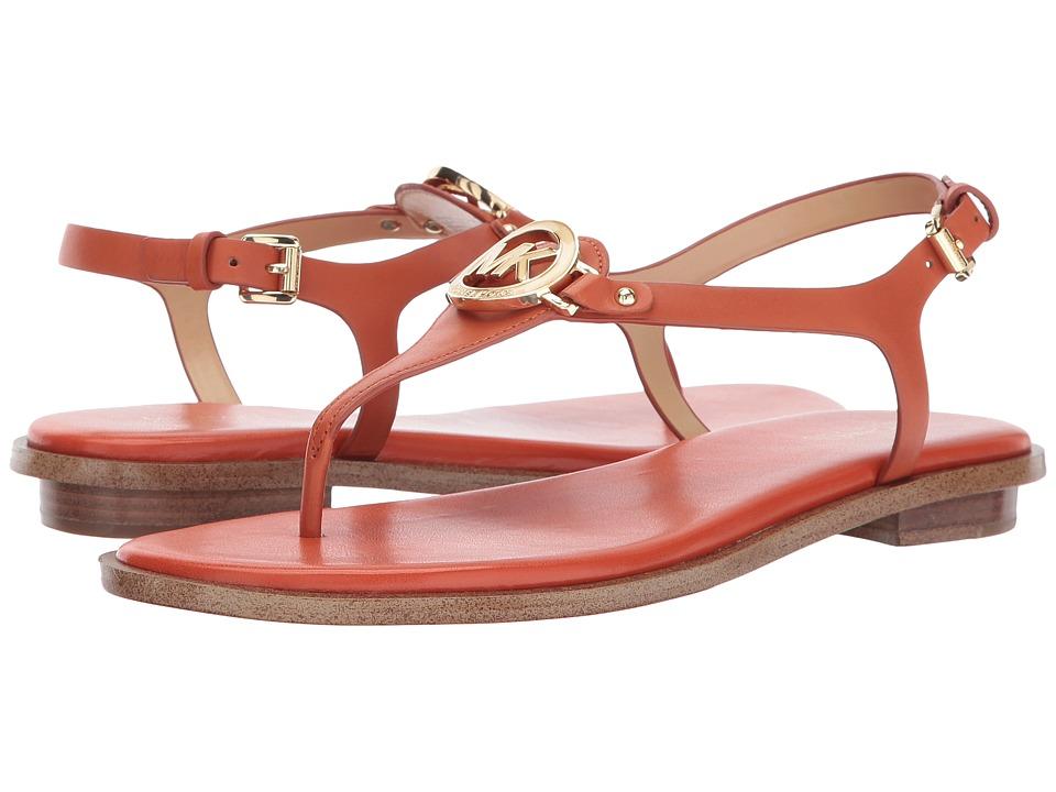 MICHAEL Michael Kors - Lee Thong (Orange) Women's Sandals