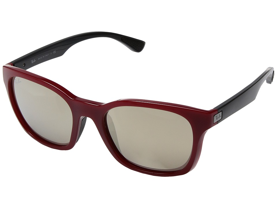 Ray-Ban - 0RB4197 (Red) Fashion Sunglasses