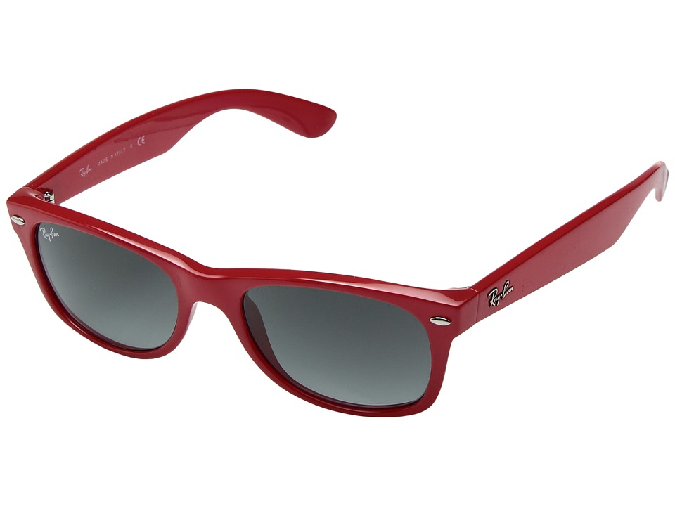 Ray-Ban - ORB2132 New Wayfarer (Shiny Coral) Fashion Sunglasses