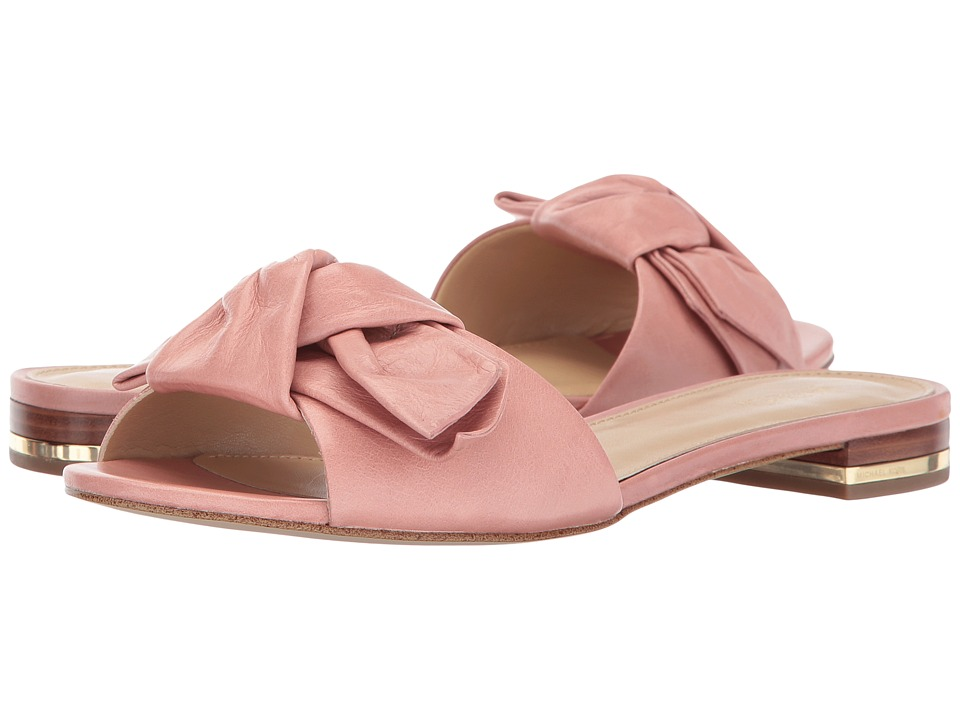 MICHAEL Michael Kors Willa Slide Light Rose Slide Shoes