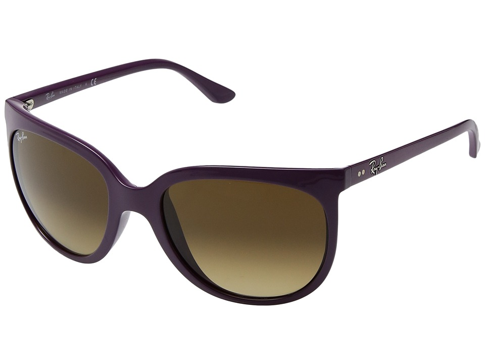 Ray-Ban - 0RB4126 Cats 1000 (Shiny Violet) Fashion Sunglasses