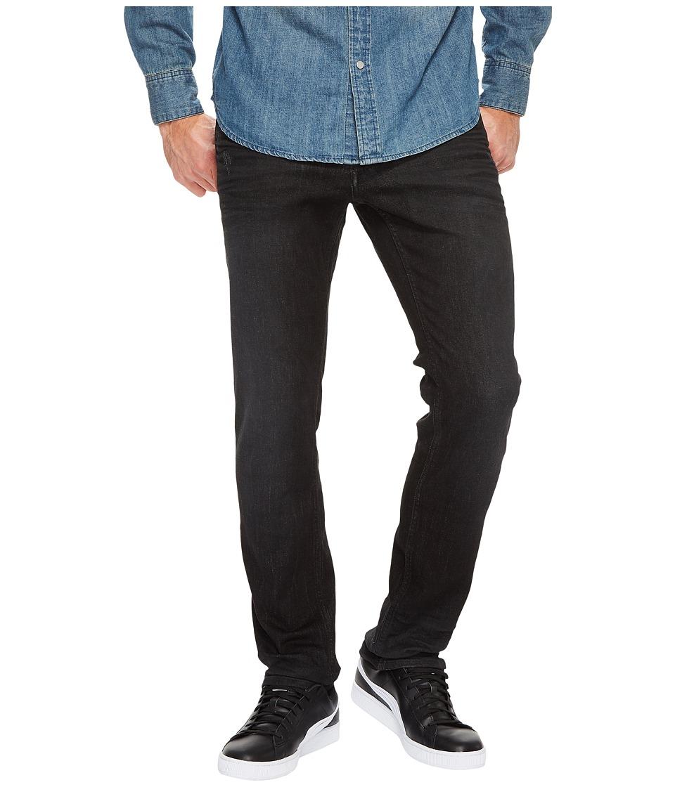 Calvin Klein Jeans Slim Fit Jeans in Magnetic Black (Magnetic Black) Men