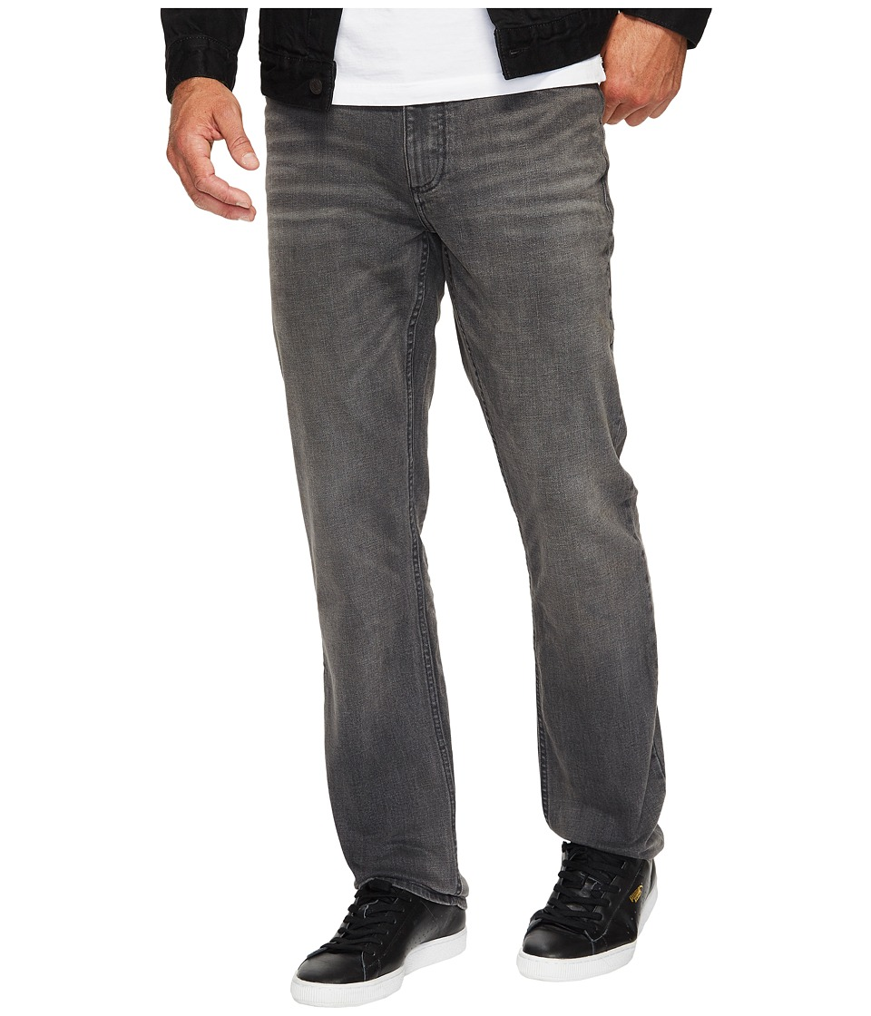 Calvin Klein Jeans - Slim Straight Jeans in Lead Black (Lead Black) Men's Jeans