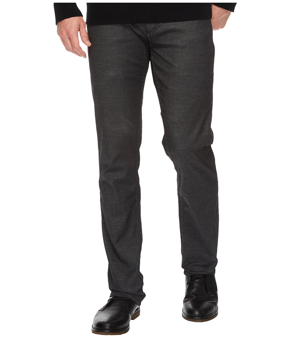 Calvin Klein Jeans Slim Straight Jeans in Rinse Black (Rinse Black) Men