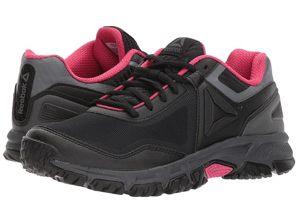 Reebok Ridgerider Trail 3.0 (Black/Ash Grey/Acid Pink) Women