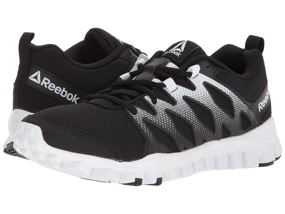 Reebok RealFlex Train 4.0 (Black/White) Women's Cross Training Shoes