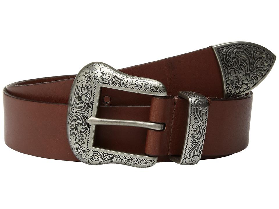 LAUREN Ralph Lauren Western Three-Piece Belt (Cuoio) Women