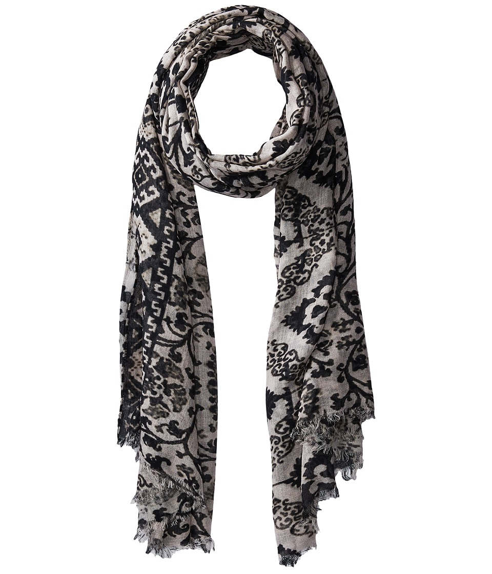 Bindya - Folklore Inspiration Scarf (Black/White) Scarves