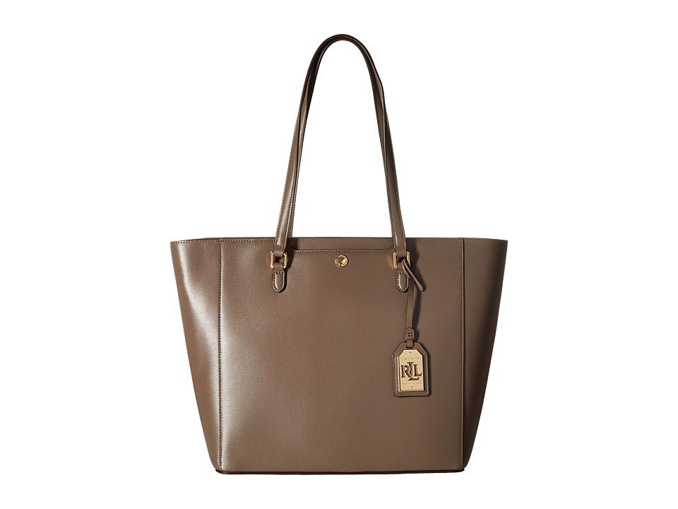 LAUREN Ralph Lauren - Newbury Halee Tote (Falcon) Tote Handbags