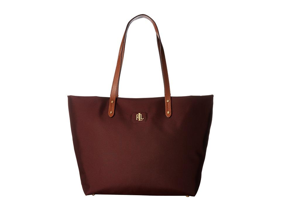 LAUREN Ralph Lauren - Bainbridge Tote (Port) Tote Handbags