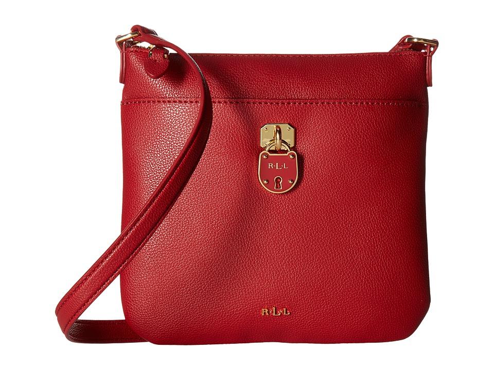 LAUREN Ralph Lauren - Emden Lila Crossbody (Red) Cross Body Handbags