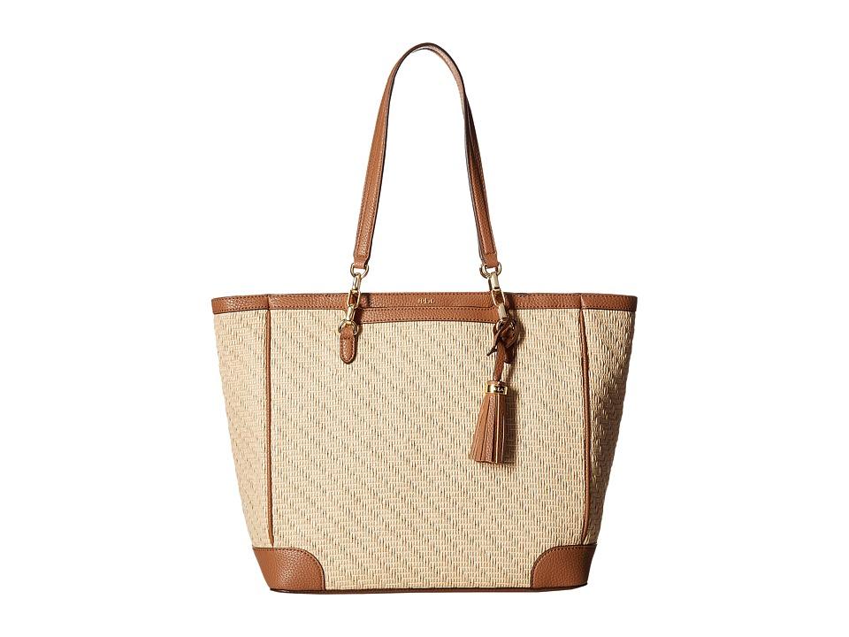 LAUREN Ralph Lauren - Howley Halee Tote Medium (Natural) Tote Handbags