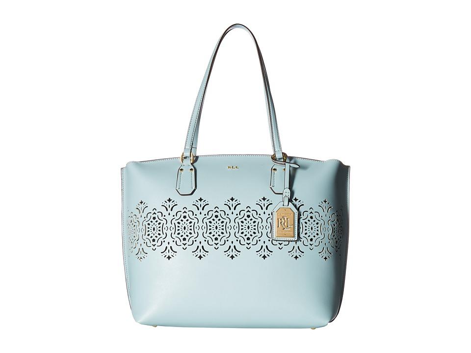 LAUREN Ralph Lauren - Lauderdale Tanner Tote Medium (Blush) Tote Handbags