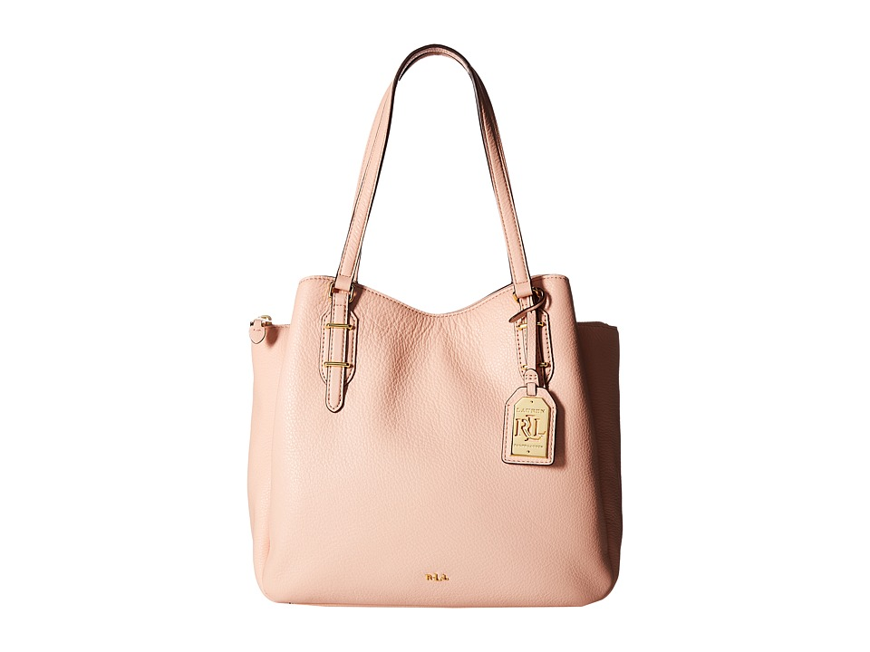 LAUREN Ralph Lauren - Easby Fenmore Hobo Medium (Blush) Hobo Handbags