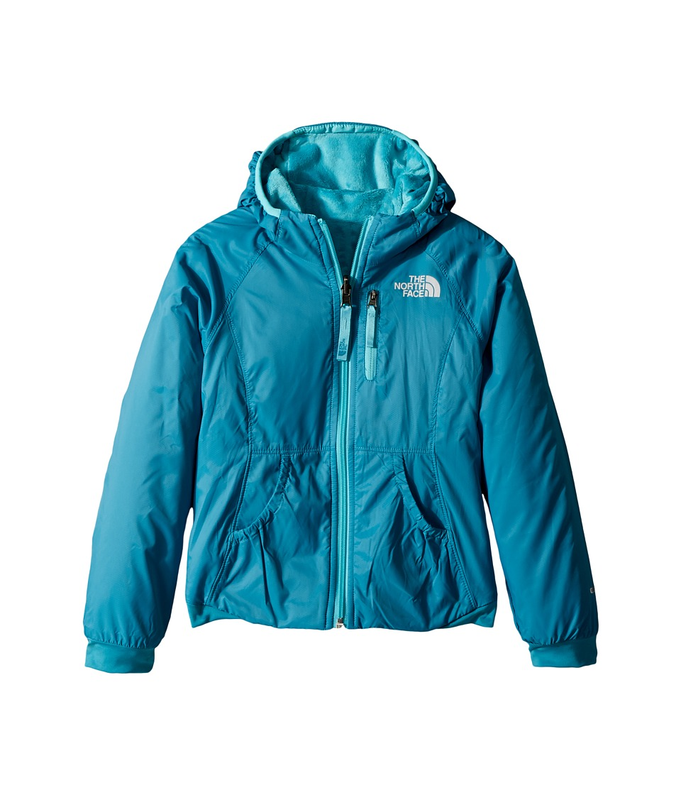 The North Face Kids Reversible Breezeway Wind Jacket (Little Kids/Big Kids) (Algiers Blue) Girl