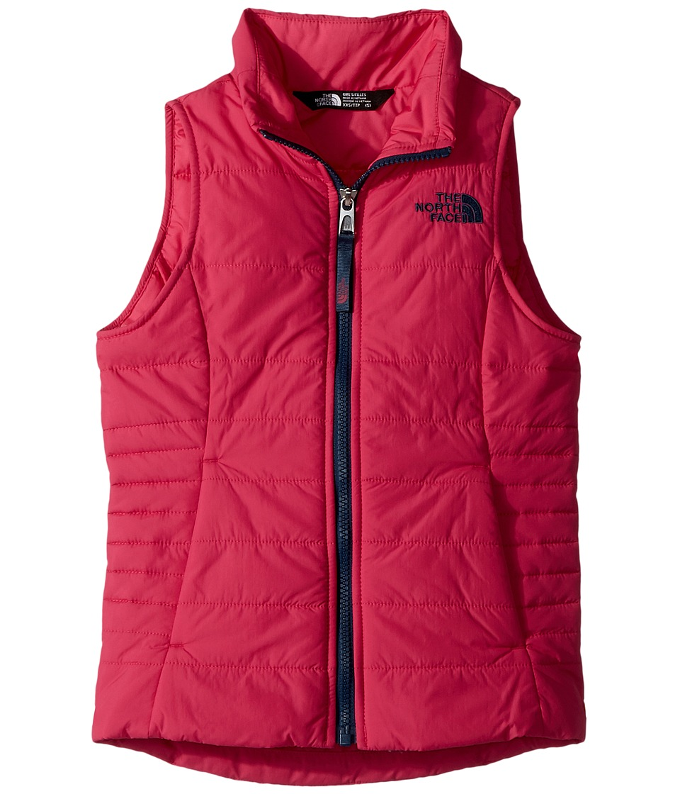 The North Face Kids All Season Insulated Vest (Little Kids/Big Kids) (Petticoat Pink) Girl