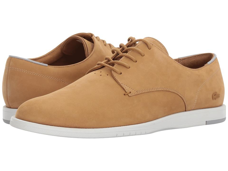 Lacoste - Laccord 117 1 (Dark Tan) Men's Shoes