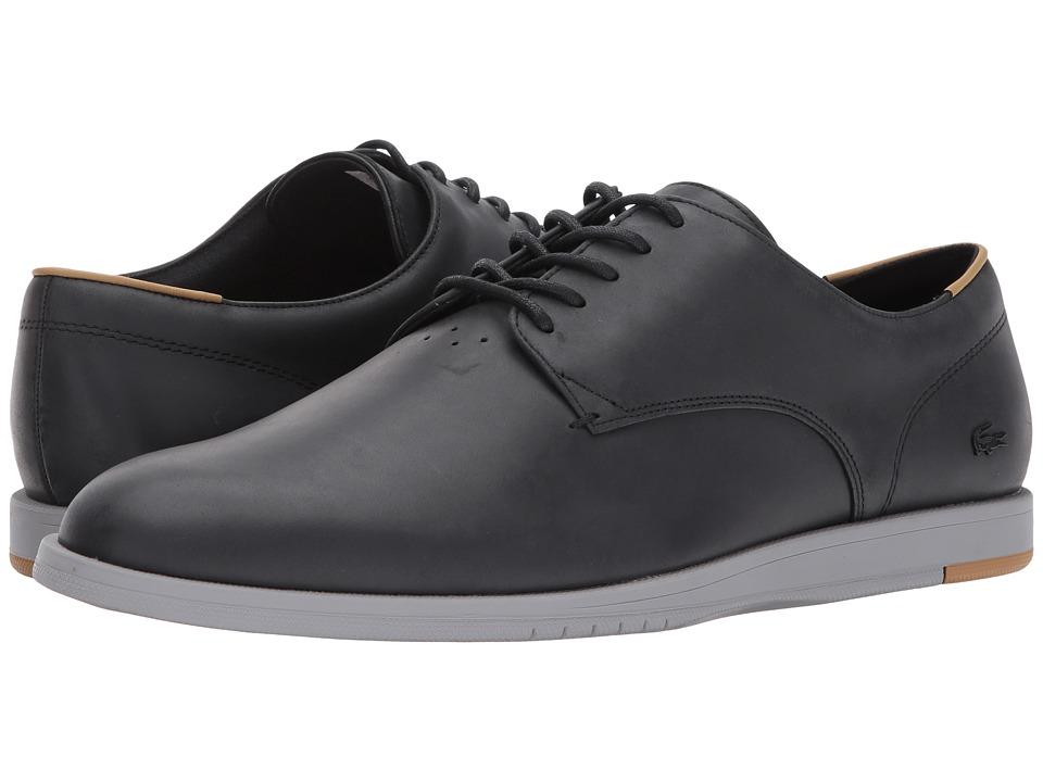Lacoste - Laccord 117 1 (Black) Men's Shoes