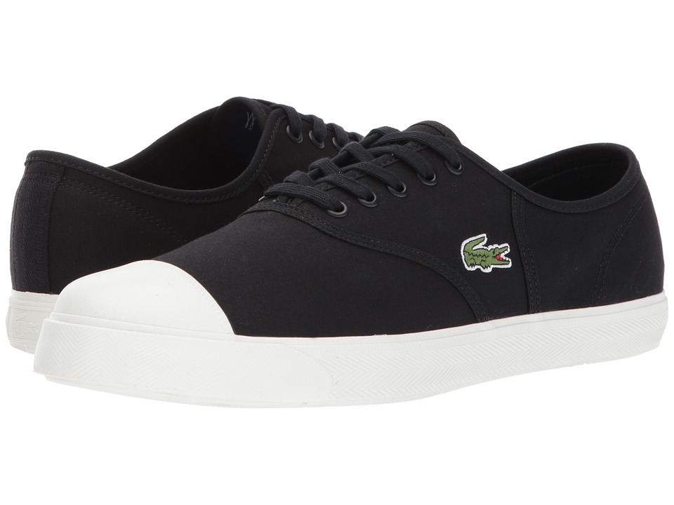 Lacoste - Rene 117 1 (Black) Men's Shoes