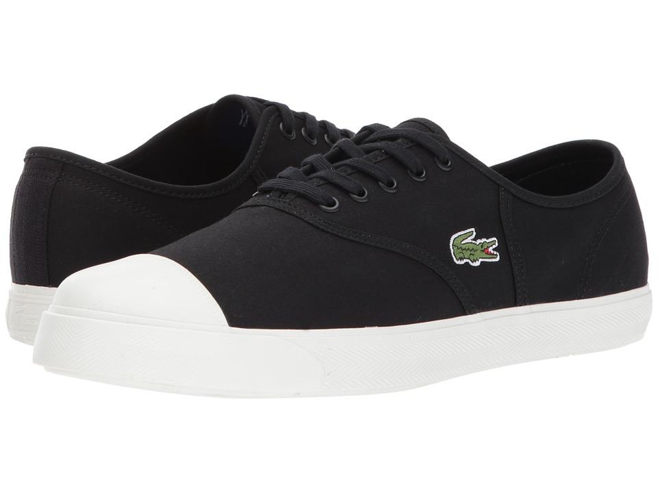 Lacoste - Rene 117 1 (Black) Men's Shoes