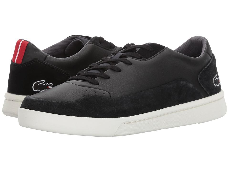 Lacoste - Doucet 117 1 G (Black) Men's Shoes