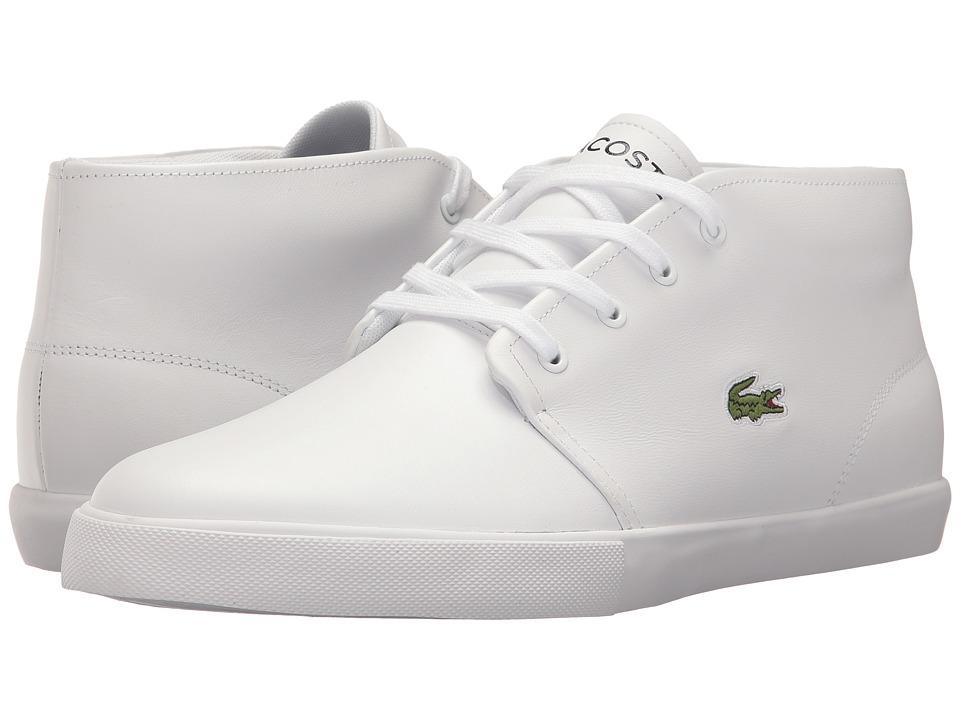 Lacoste - Asparta 317 US (White/White) Men's Shoes