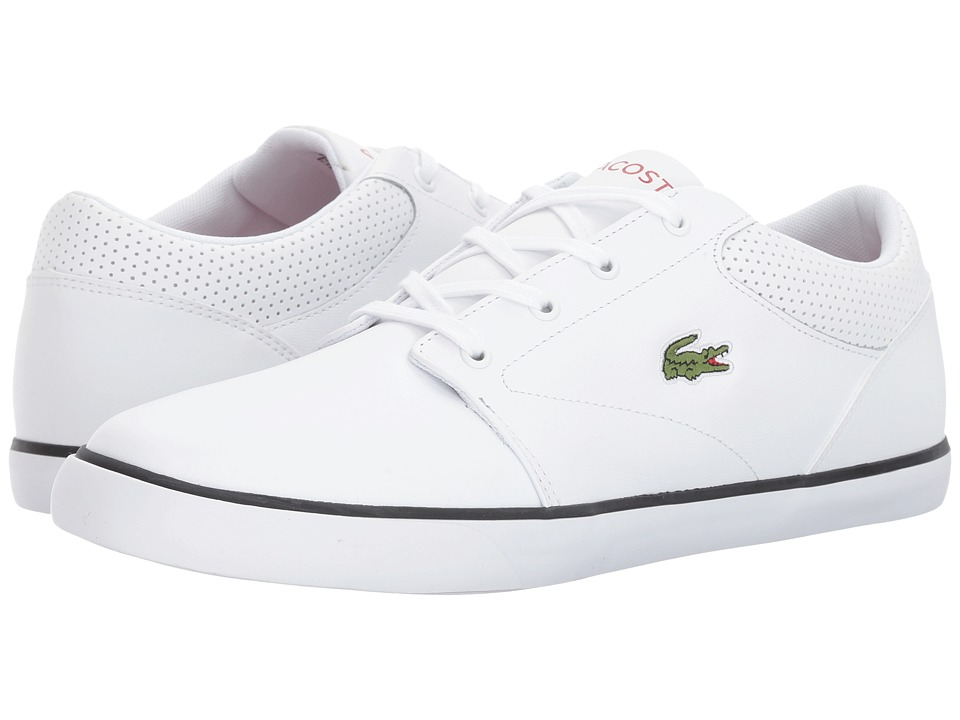 Lacoste - Minzah 317 1 US (White/Black) Men's Shoes