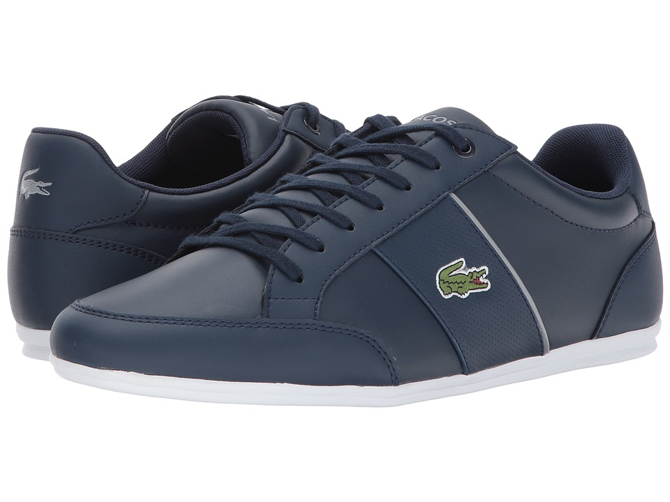 Lacoste - Nivolor 317 US (Navy/White) Men's Shoes