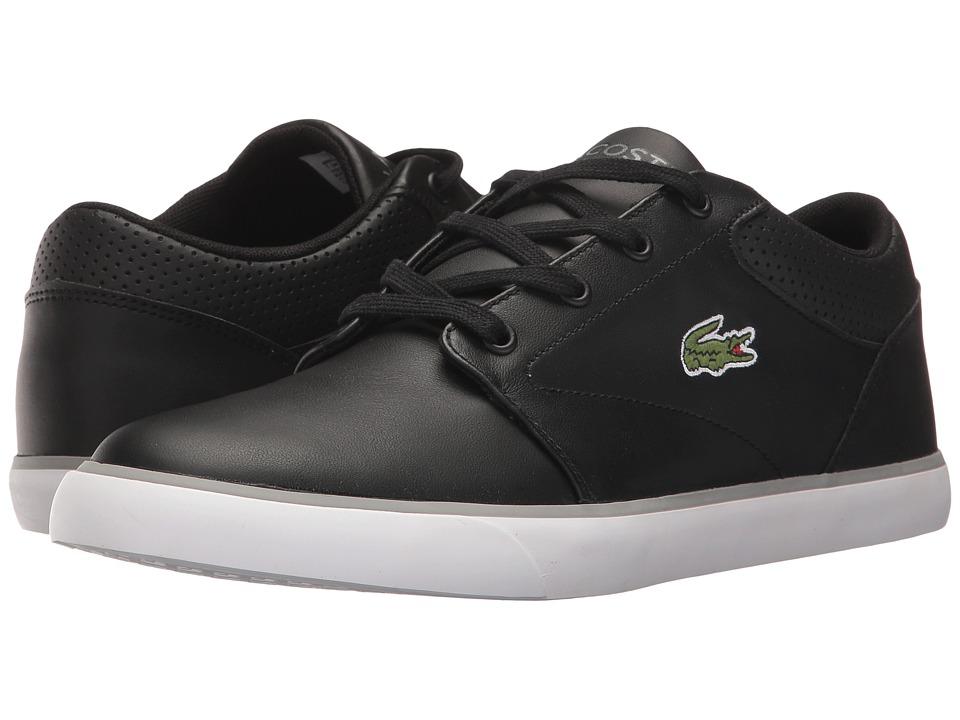 Lacoste - Minzah 317 1 US (Black/White) Men's Shoes