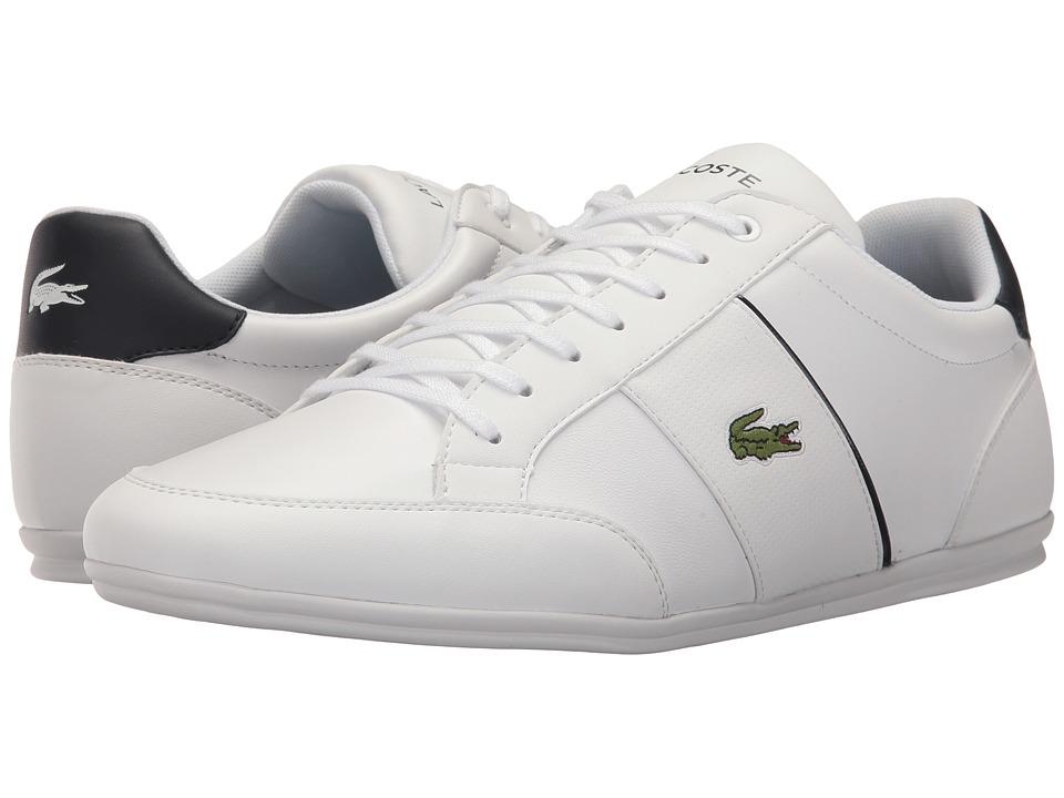 Lacoste - Nivolor 317 US (White/Navy) Men's Shoes