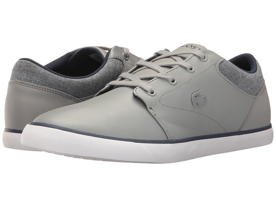 Lacoste - Minzah 317 2 US (Grey/White) Men's Shoes