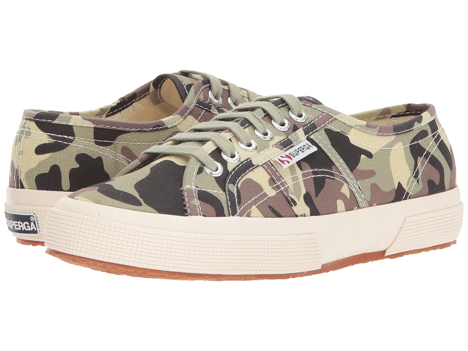 Superga - 2750 FANTASY COTU (Camouflage) Women's Lace up casual Shoes