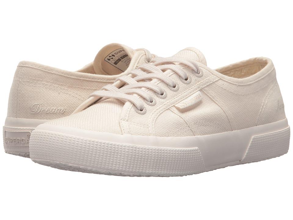 Superga - 2750 Cotw Pyper (Ecru) Women's Lace up casual Shoes