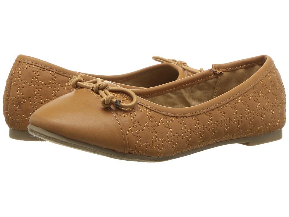 Report Kids - Amelia (Little Kid/Big Kid) (Cognac) Girl's Shoes