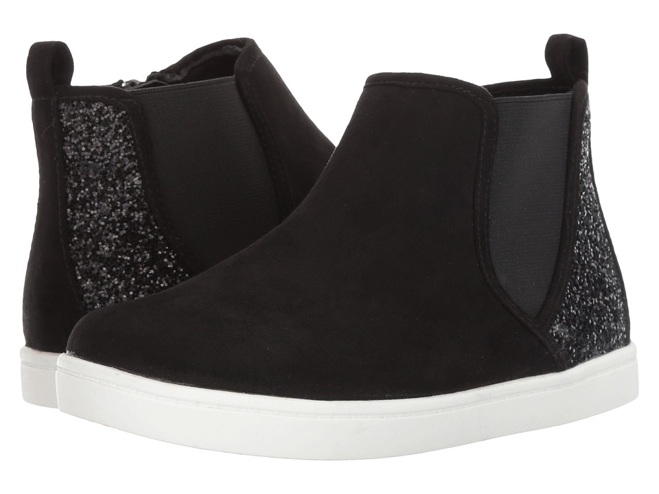 Report Kids - Sonny (Little Kid/Big Kid) (Black) Girl's Shoes