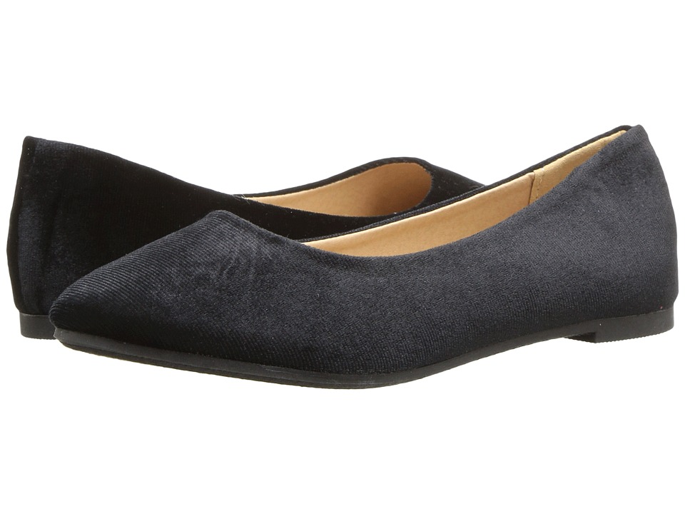 Report Kids - Wensley (Little Kid/Big Kid) (Black Velvet) Girl's Shoes