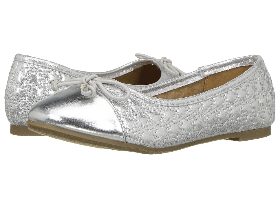 Report Kids - Amelia (Little Kid/Big Kid) (Silver) Girl's Shoes