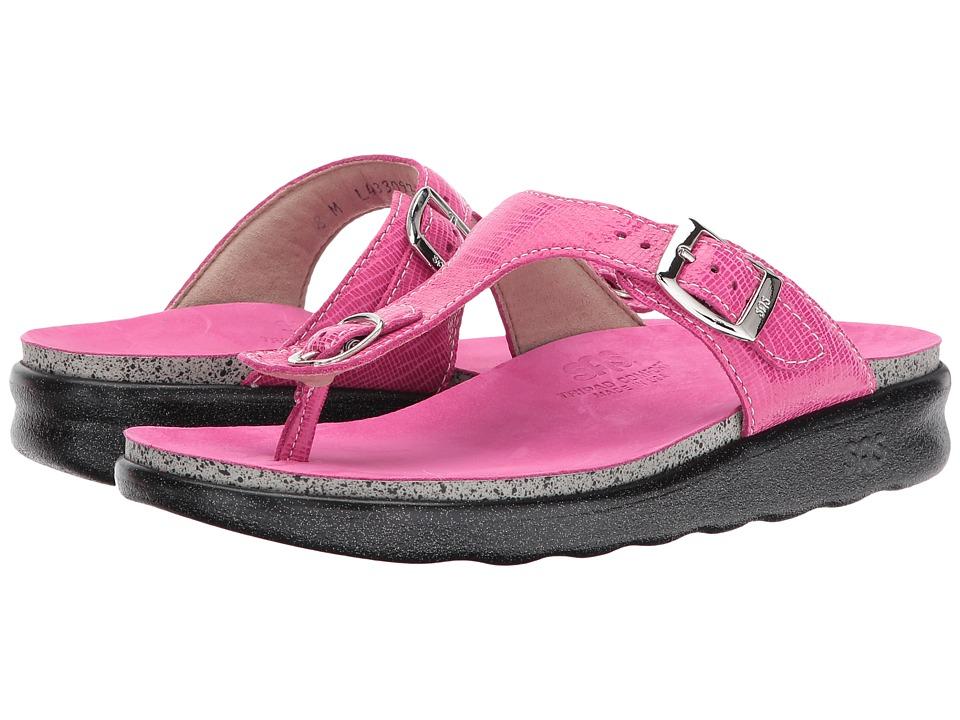 SAS - Sanibel (Dark Pink) Women's Shoes